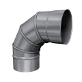 Kolano 90° skrętne kwasoodporne MKS Invest MK ŻARY Ø 130mm