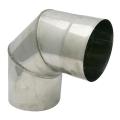 Kolano stałe 90° żaroodporne SPIROFLEX Ø 130mm gr.1,0mm