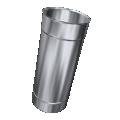 Rura prosta żaroodporna MKSZ Invest MK ŻARY Ø 130mm 0,50mb gr.0,8mm