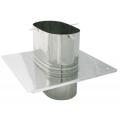 Płyta dachowa żaroodporna owalna SPIROFLEX 115x170mm gr.1,0mm