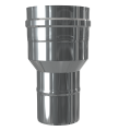 Redukcja dwuścienna MKPS Invest MK ŻARY  Ø 80/125 na 100/150mm