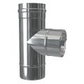 Trójnik 87° dwuścienny MKPS Invest MK ŻARY  Ø 80/125mm
