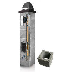 System Kominowy Ceramiczny PLEWA Osmo Las Ø 140mm