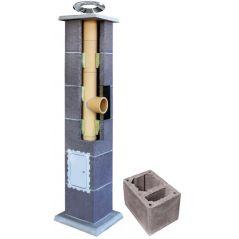 System Kominowy Ceramiczny LEIER Basic Ø 160mm z wentylacją