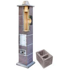 System Kominowy Ceramiczny LEIER Izolowany Ø 140mm z wentylacją