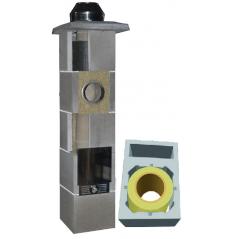 System Kominowy Ceramiczny  JAWAR Uniwersal Plus Ø 180mm z wentylacją rura izostatyczna