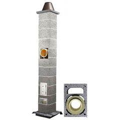 System Kominowy Ceramiczny ICOPAL WULKAN CI-eko Ø 180mm z wentylacją