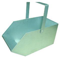 Węglarka metalowa duża z blachy ocynkowanej