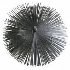 Szczotka kominowa fi 175mm wycior z blaszki