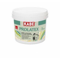 KABE PROLATEX farba lateksowa do ścian i sufitów, matowa, 5 litrów