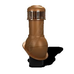 Kominek wentylacyjny NORMAL Ø 150mm do pokryć płaskich z wentylatorem mechanicznym