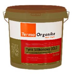 TERMO ORGANIKA tynk silikonowy TO-TSm GOLD TO-TSGm do aplikacji mechanicznej, 29 kg