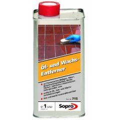 SOPRO preparat czyszczący plamy z tłuszczów i wosków OWE 715, 1 litr