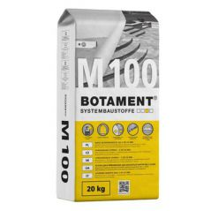 BOTAMENT M 100, masa wyrównawcza do ścian i podłóg od 3 do 50 mm, 20 kg