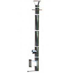 Wkład kominowy żaroodporny MKSZ Invest MK ŻARY Ø 120mm gr.0,8mm