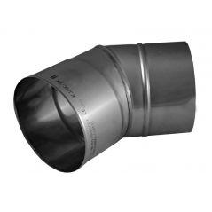 Kolano 30° KOMINUS KZS Ø 150mm gr.0,8mm
