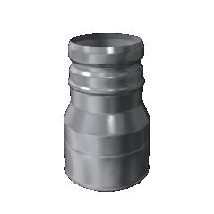 Redukcja jednościenna MKKS Standard MK ŻARY  Ø 130mm