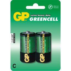 BATERIA GREENCELL 1.5V R14 2 SZTUKI
