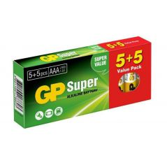 BATERIA SUPER ALKALINE AAA LR3 1.5V 12 SZTUK