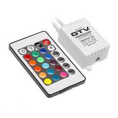 KONTROLER LED RGB MINI 12V DC IP20 MAX 72W