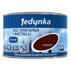 EMALIA ALKIDOWA DO DREWNA I METALU MAHOŃ 0,36L
