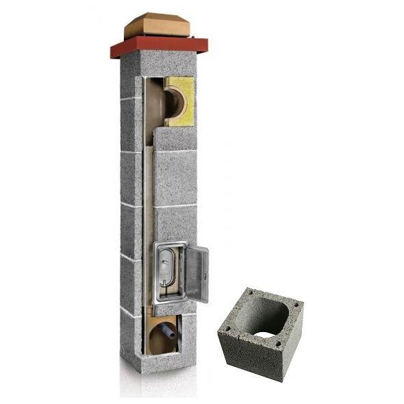 System Kominowy Ceramiczny PLEWA Uni Fu 200x200mm