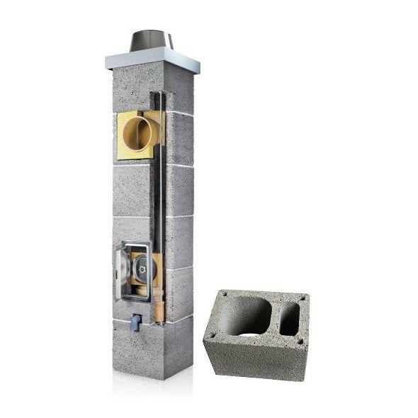 System Kominowy Ceramiczny PLEWA Osmo Fu Ø 180mm z wentylacją