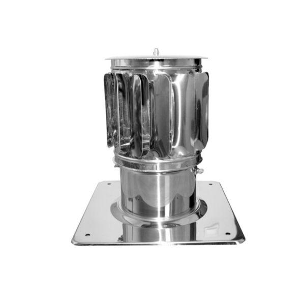 Nasada Turbomax 2 Ø 200mm z podstawą kwadratową
