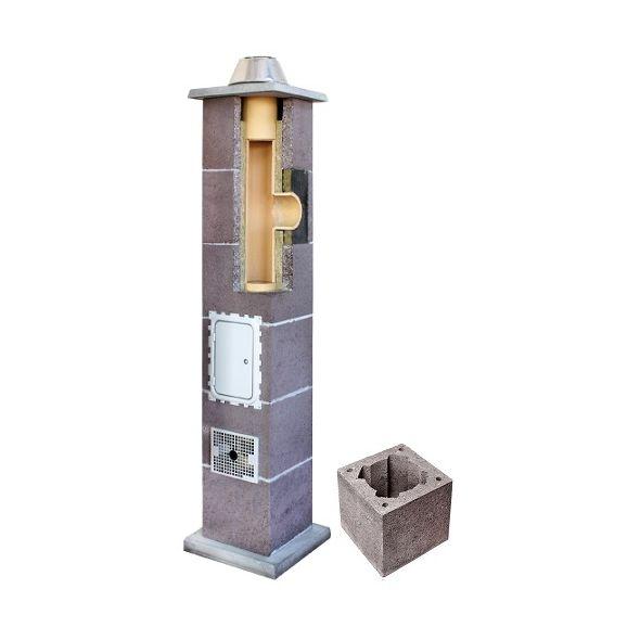 System Kominowy Ceramiczny LEIER Izolowany Ø 140mm