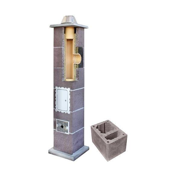 System Kominowy Ceramiczny LEIER Izolowany Ø 200mm z wentylacją