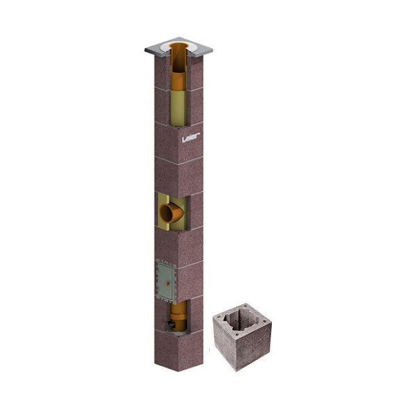 System Kominowy Ceramiczny LEIER SMART izolowany Ø 180mm