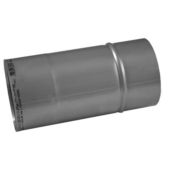 Rura prosta KOMINUS KZS Ø 180mm 0,25mb gr.0,8mm