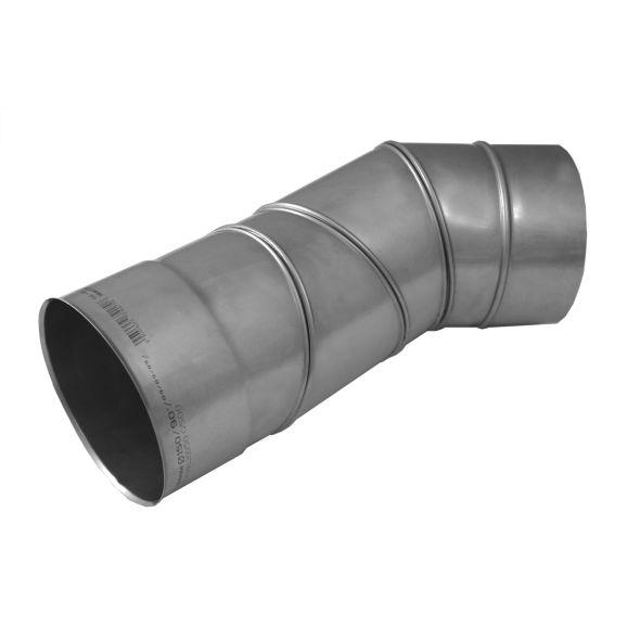 Kolano regulowane 0°-90° KOMINUS KZS Ø 250mm gr.0,8mm