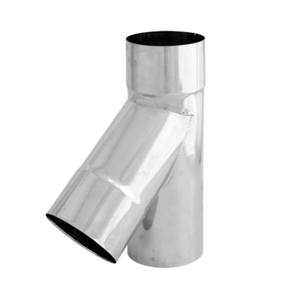 Trójnik 45° żaroodporny SPIROFLEX Ø 140mm gr.1,0mm