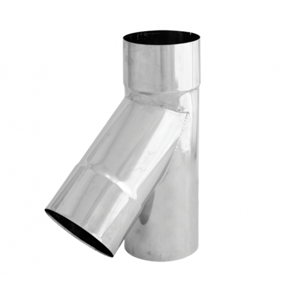 Trójnik 45° żaroodporny SPIROFLEX Ø 150mm gr.1,0mm