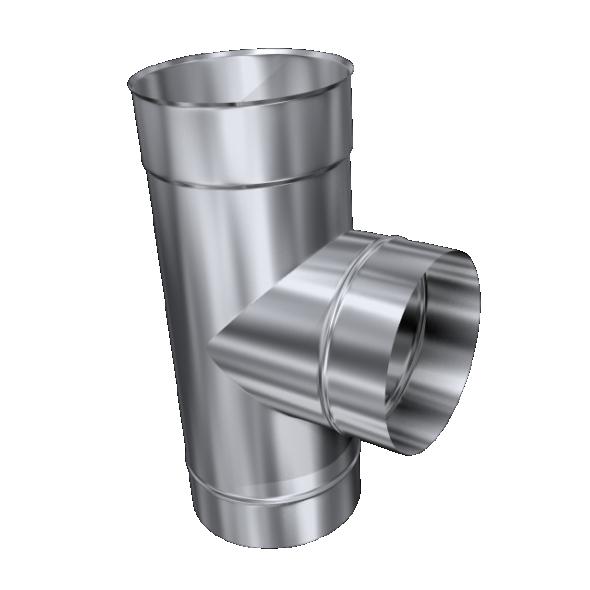 Trójnik 90° żaroodporny MKSZ Invest MK ŻARY Ø 250mm gr.0,8mm