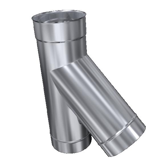 Trójnik 45° żaroodporny MKSZ Invest MK ŻARY Ø 160mm gr.0,8mm