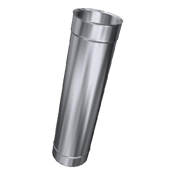 Rura prosta żaroodporna MKSZ Invest MK ŻARY Ø 160mm 1mb gr.0,8mm