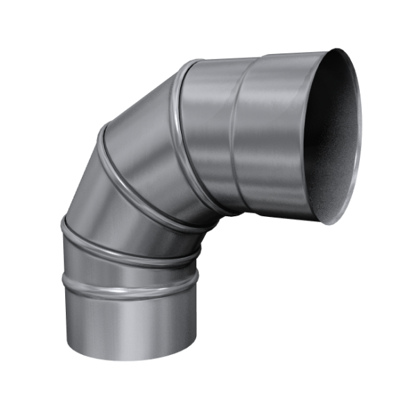 Kolano 90° skrętne żaroodporne MKSZ Invest MK ŻARY Ø 150mm gr.0,8mm