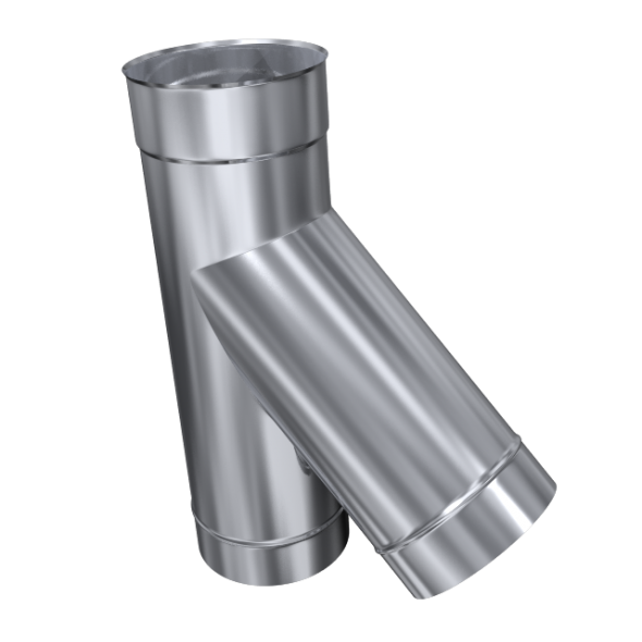 Trójnik 45° żaroodporny MKSZ Invest MK ŻARY Ø 120mm gr.0,8mm
