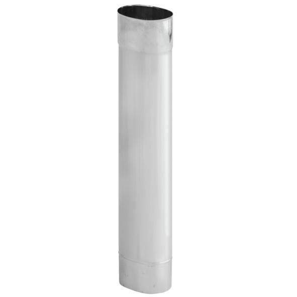 Rura żaroodporna owalna SPIROFLEX 120x215mm 1mb gr.0,8mm