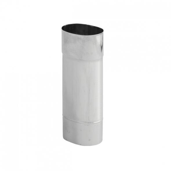Rura żaroodporna owalna SPIROFLEX 130x240mm 0,5mb gr.0,8mm