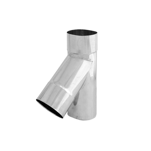 Trójnik 45° żaroodporny owalny SPIROFLEX 120x215mm gr.1,0mm
