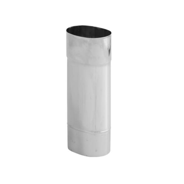 Rura żaroodporna owalna SPIROFLEX 130x240mm 0,5mb gr.1,0mm