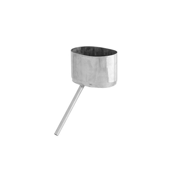 Odskraplacz żaroodporny owalny SPIROFLEX 130x240mm gr.0,8mm